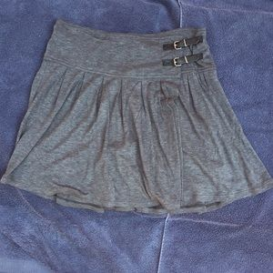 Womens wool blend skirt